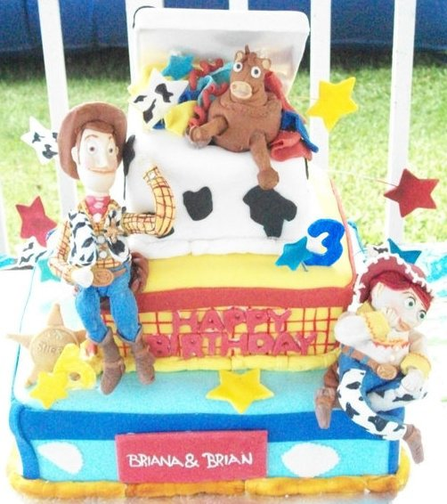 Woody & Jessie(Toy Story)
